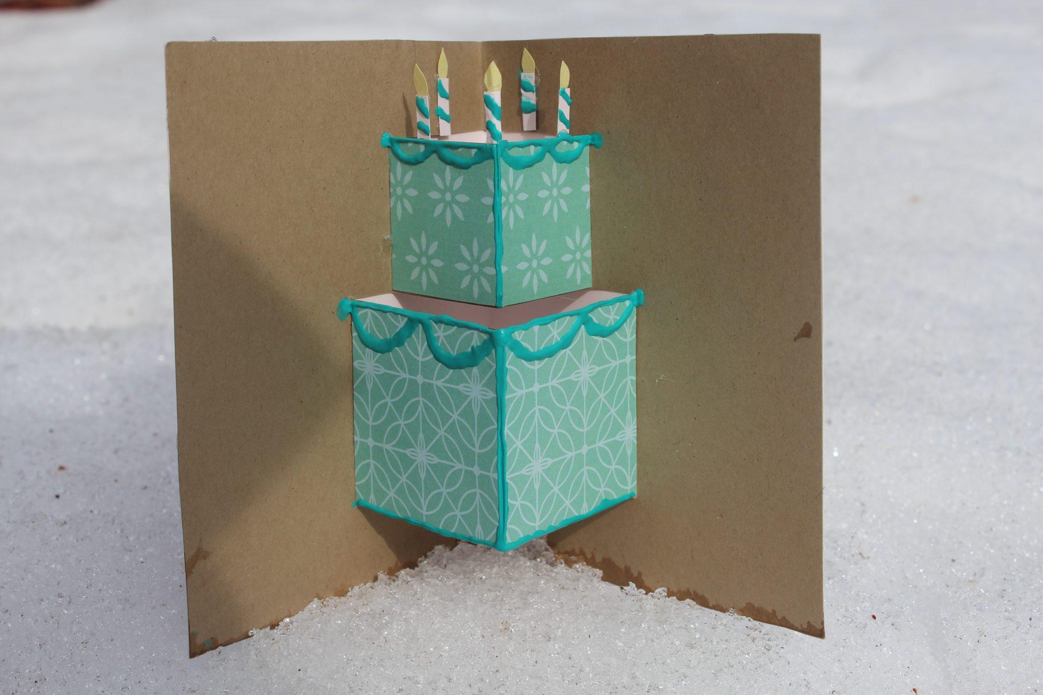 Free Simple Birthday Cards ~ Pop up birthday cards simple how to make a simple popup birthday