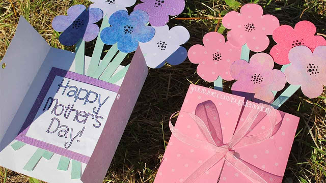 Mother's Day Flower Card Tutorial