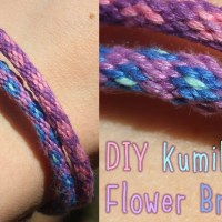 Kumihimo Flower Bracelet Tutorial