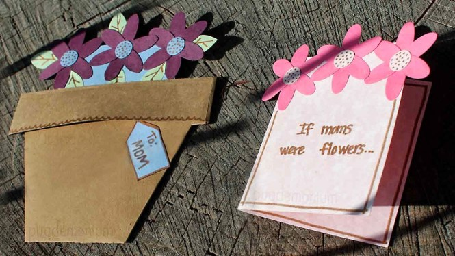 Flowerpot Mother's Day Card Tutorial