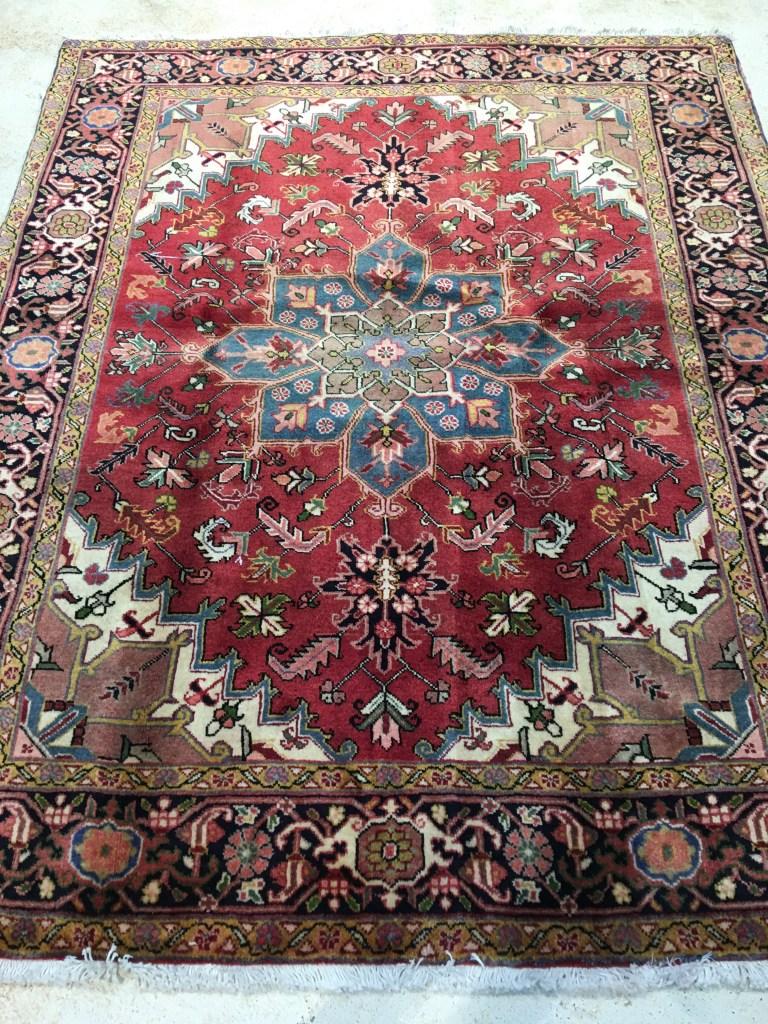 5800 Persian Heriz 5.4×6.6