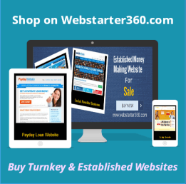 Buy Turnkey & Established Websites