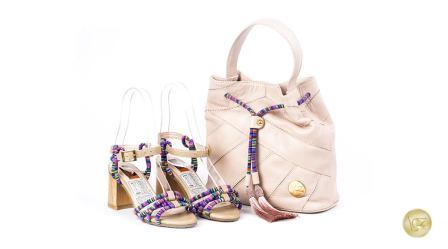 zapatos y bolsos de cuero