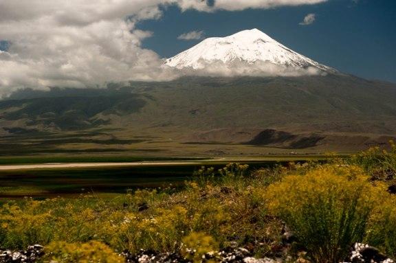 Ararat visto da Turquia