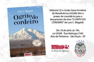 UGAB, Cordeiro, livro, Magaldi