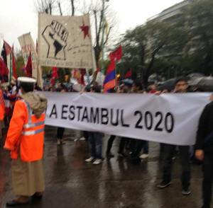 protesto contra Erdogan - Argentina