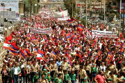 armenian-demonstration-in-beyrut