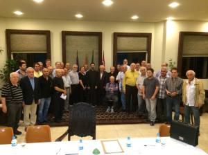 Conselho reunido. Foto: Carlos Garabet
