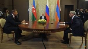 Encontro trilateral aconteceu na cidade russa de Sochi