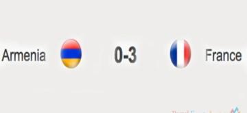 France 3 Armenia 0
