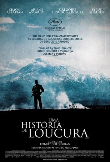 Poster Nacional - Uma Historia de Loucura