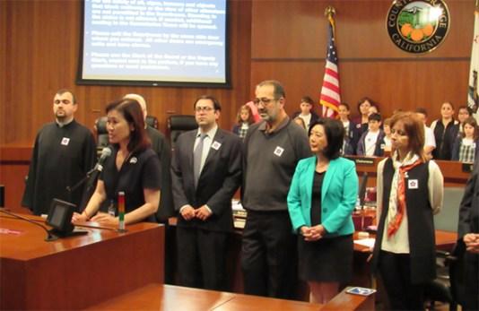 Michelle Steel, A vice-presidente do Conselho de Supervisores do Condado de Orange (Orange County)