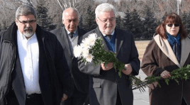 Na Armênia, vereador Gilberto Natalini visitou o memorial do Genocídio Armênio em Erevan