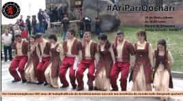 'Ari Pari Qochari' acontece no dia 26 de maio, no Parque do Ibirapuera (SP)