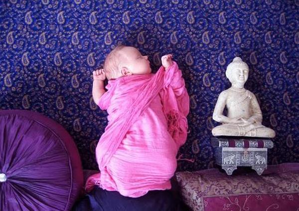 India. Adele Enersen, una madre creativa