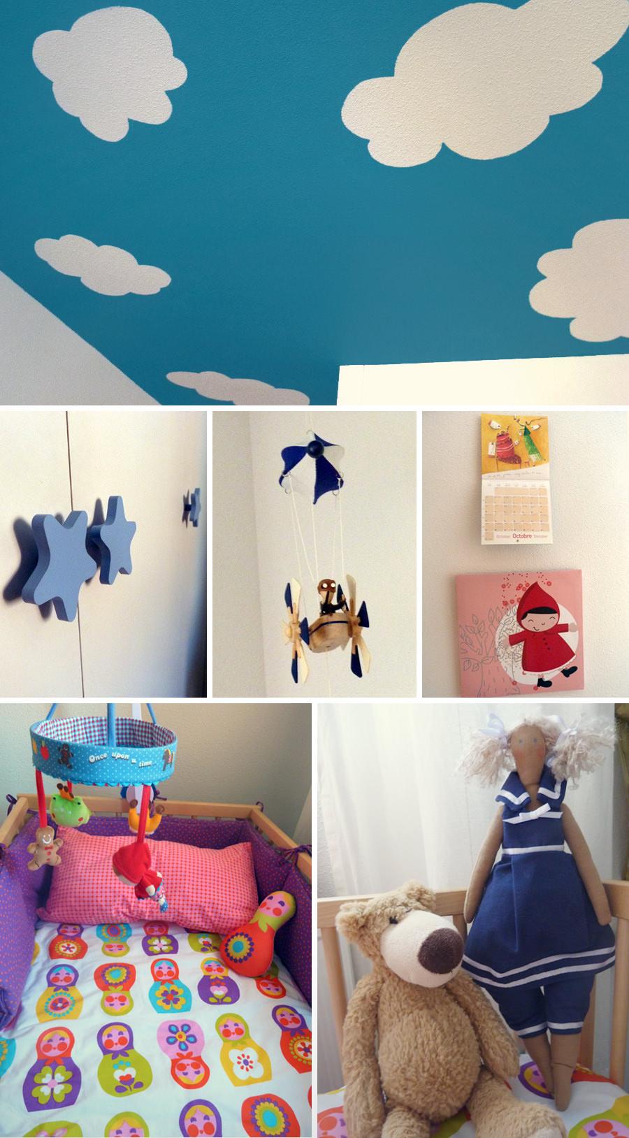 Decorar la habitación del bebé, pequeños detalles