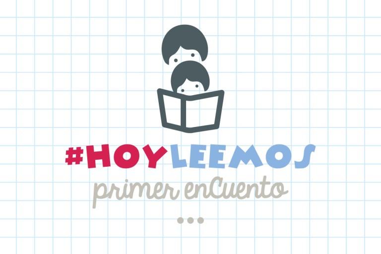 Primer encuentro #hoyleemos Logo diseñado por Ahora soy mamá