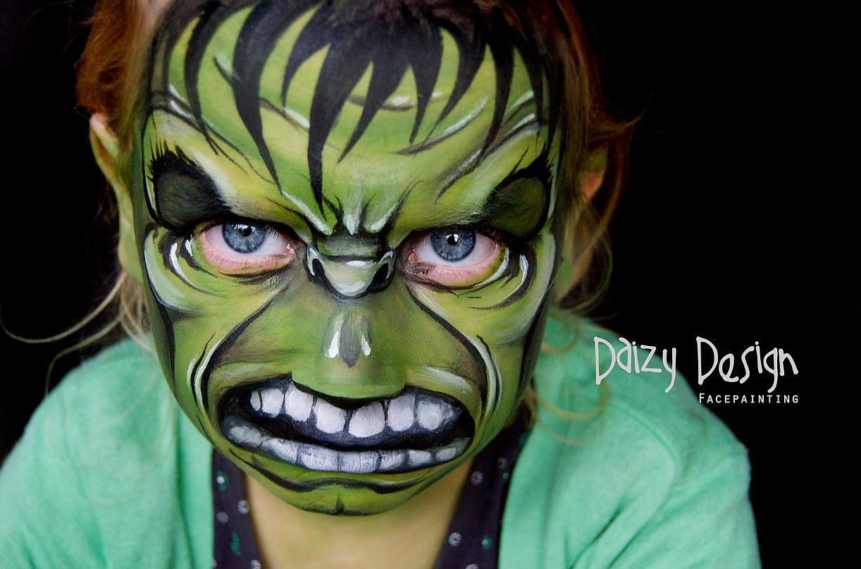 Daizy Design face painting. Ideas para hacer pintacaras