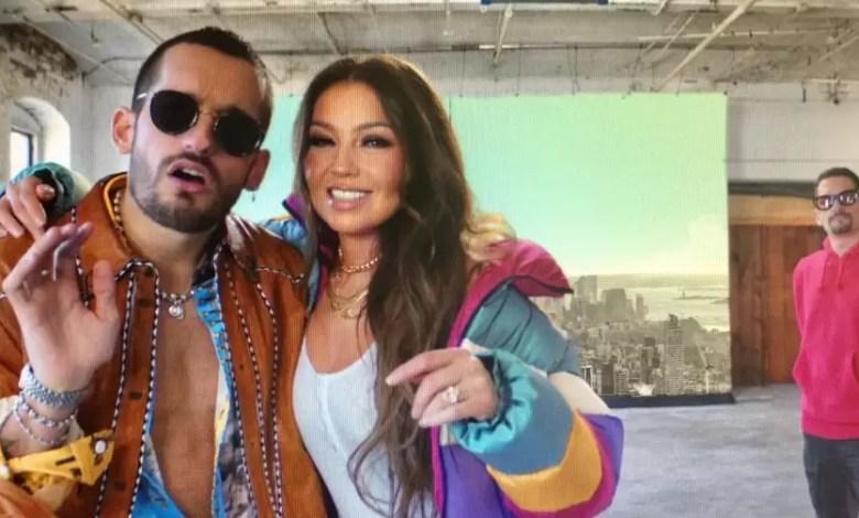 Photo of Thalía estrena canción junto a Mau y Ricky