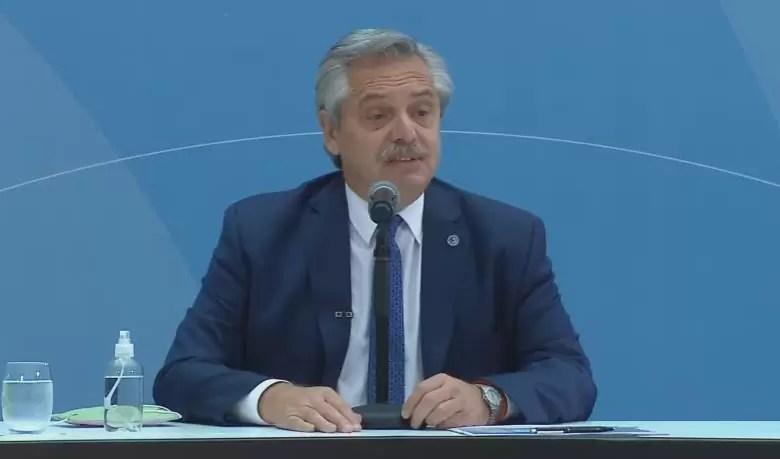 """Photo of Alberto Fernández habló sobre el acuerdo con el FMI: """"No es mi prioridad"""""""