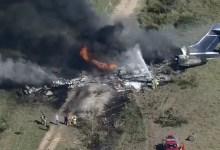Photo of Un avión se estrelló en Texas con 21 personas a bordo