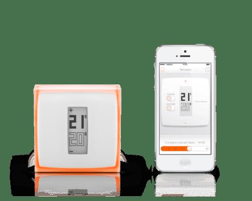 netatmo termostato smartphone