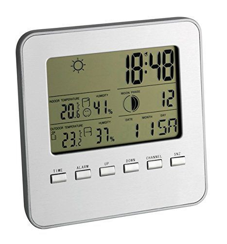 TFA Dostmann 35.1098 Quadro estacion meteorologica regalo de navidad