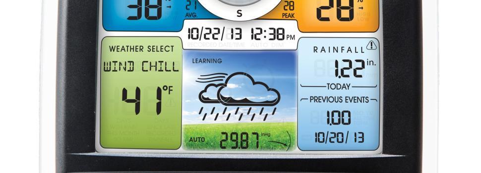 Guía y consejos para la compra de una estación meteorológica.