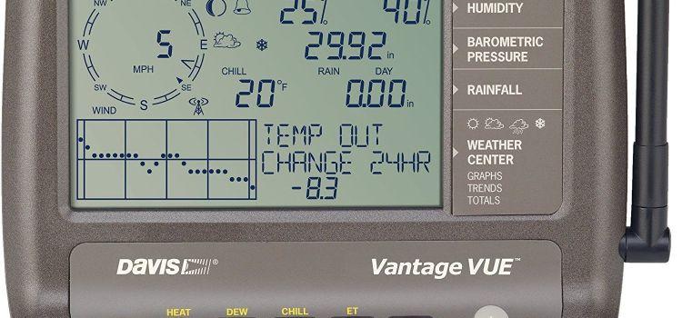 Davis Vantage Vue: Estación meteorológica profesional