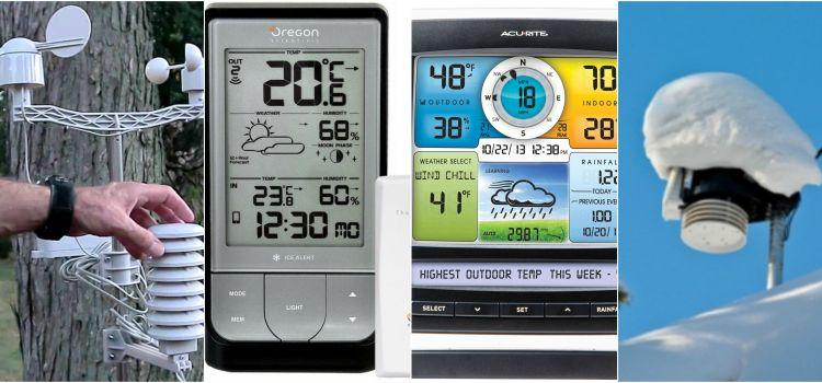 Consejos para la solucionar problemas típicos de las estaciones meteorológicas.