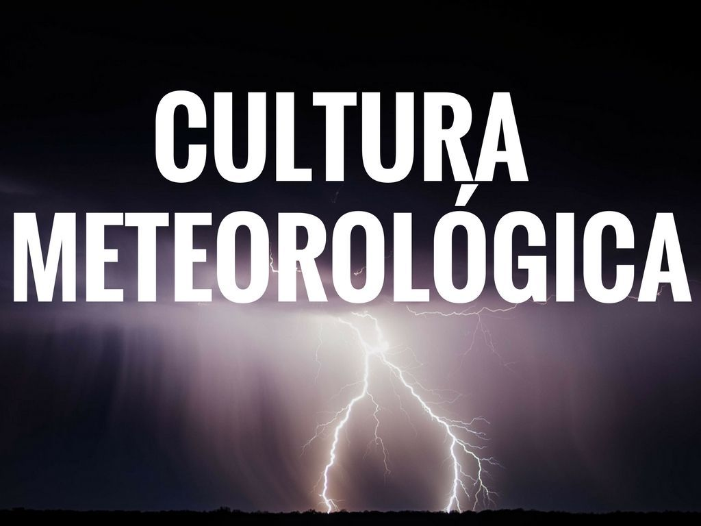 Cultura meteorologica