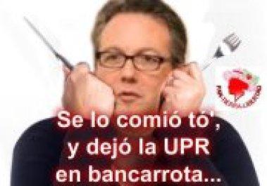 Mal usó $7.2 Millones con la Tarjeta de Crédito de la UPR - Incluso en botellas de vino de $1,000.00 con fondos públicos.