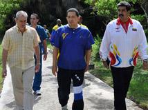 Chavez en Cuba