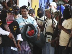 Grupo de autodefensa en Guerrero. Foto: Especial
