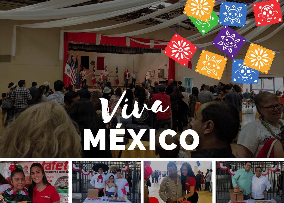 Fiestas Patrias Mexicanas en Estafeta