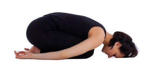Balasana of Child Pose