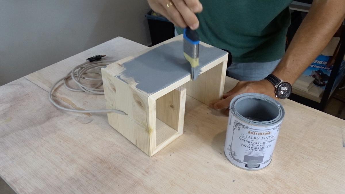 Como hacer una lampara 17   DIY modern lamp
