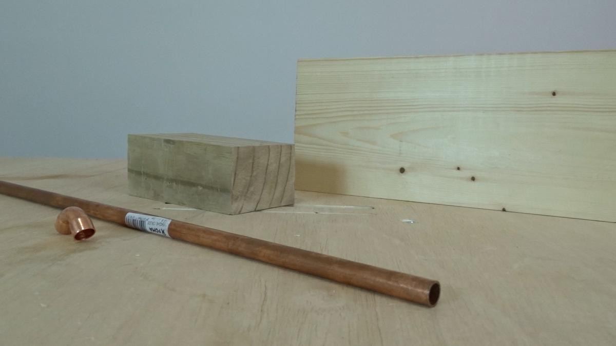 Como hacer un toallero de madera   DIY towel holder 1