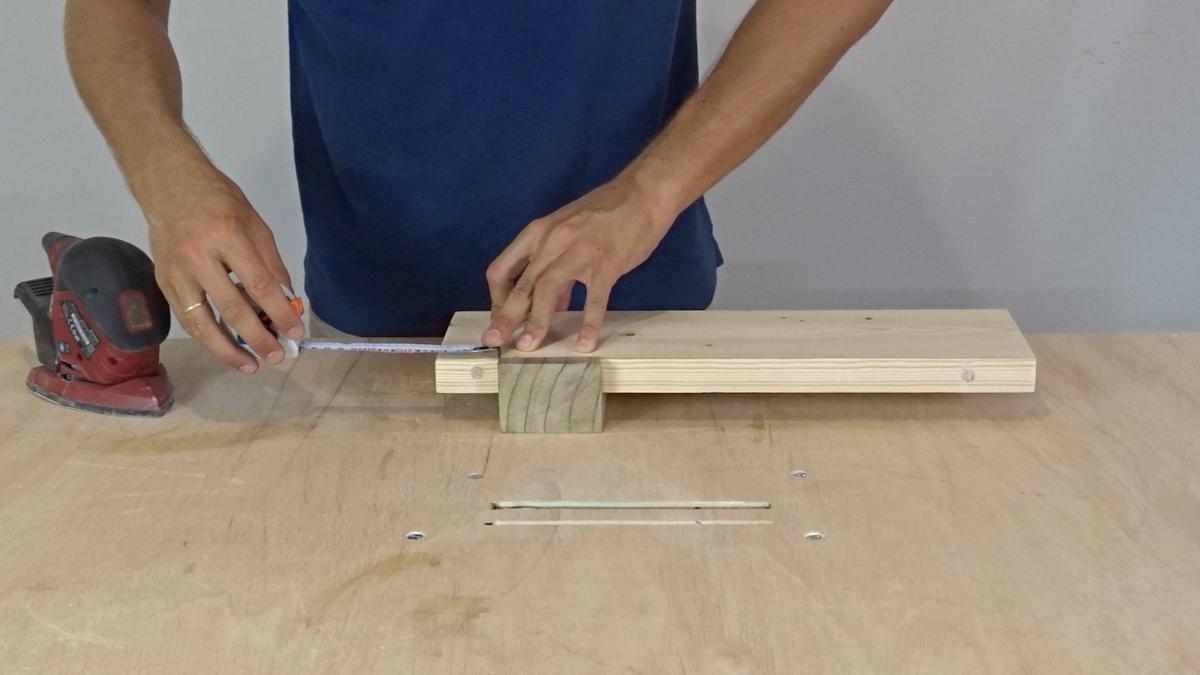Como hacer un toallero de madera | DIY towel holder 8