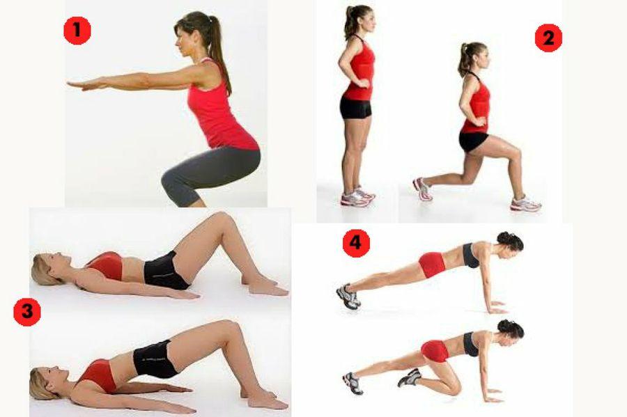 Resultado de imagen para ejercicios para hacer nalga