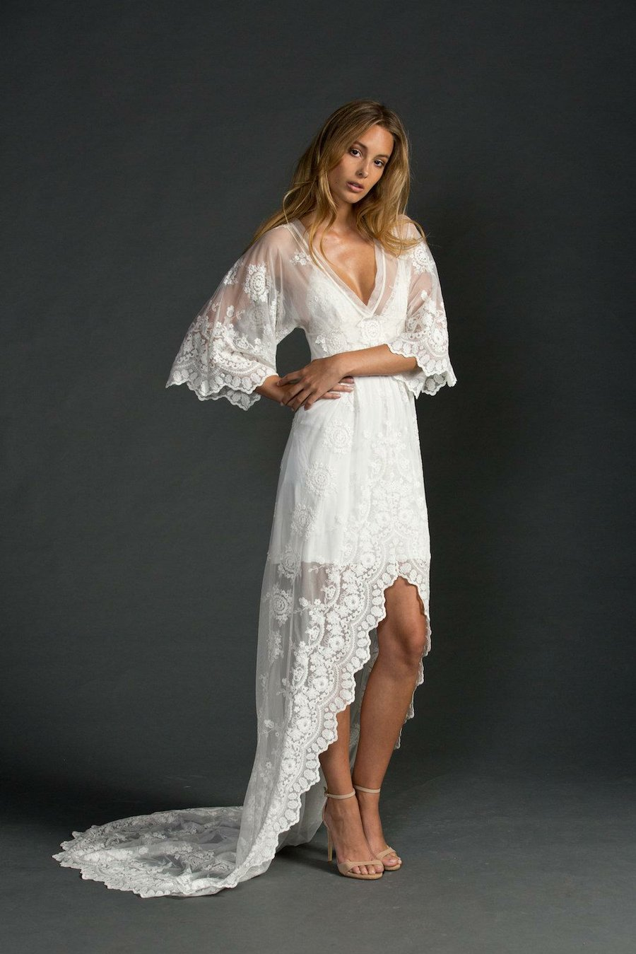 100 Vestidos Bohemios Para Novia De Ensueo Bodas