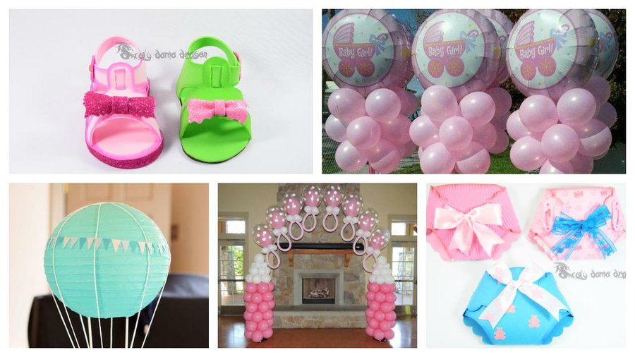Manualidades Sencillas Para Baby Shower.Manualidades Decoracion Para Baby Shower En Casa Economico