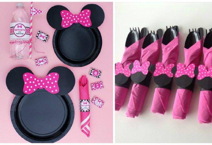 Ideas Bonitas Para Una Fiesta Temática De Minnie Mouse Manualidades
