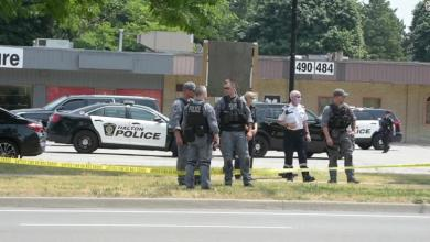 Foto de Mafioso canadiense muerto en tiroteo, según la policía