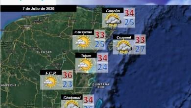 Foto de Pronóstico del tiempo en Quintana Roo para martes 07 de julio