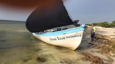 Foto de Se salva pescador nadando en Dzilam de Bravo