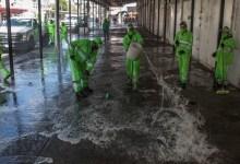 Foto de Comerciantes de Tepito realizan labores de limpieza; cerrarán 3 días para evitar aglomeraciones