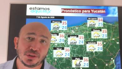 Foto de Pronóstico del tiempo y para la navegación en la península de Yucatán para el viernes 7 de agosto