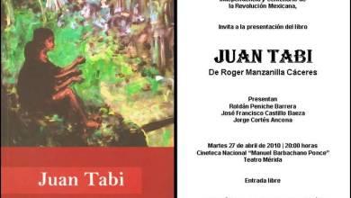 Foto de Juan Tabi  del escritor Roger  Manzanilla Cáceres