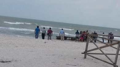 Foto de Falso avistamiento de cuerpo humano en Playa Norte